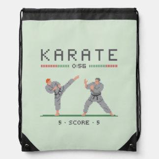 Het Videospelletje van de karate Trekkoord Rugzakje