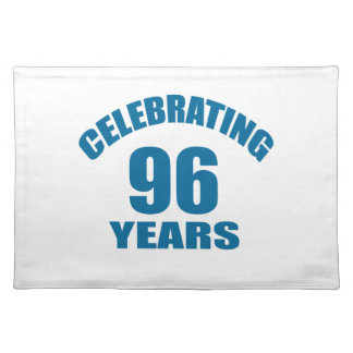 Het vieren het Design van de Verjaardag van 96 Placemat