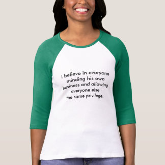 Het vieren Individualisme & Diversiteit T Shirt