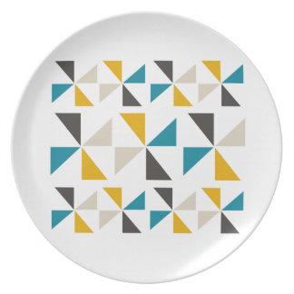 Het Vierkant van de driehoek Melamine+bord