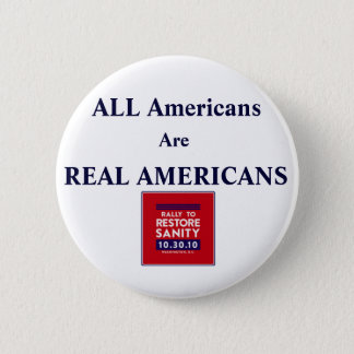 Het Vierkant van de verzameling, ALLE Amerikanen Ronde Button 5,7 Cm