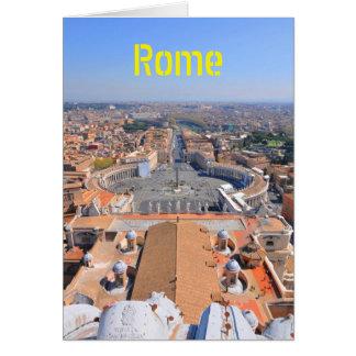 Het vierkant van heilige Peter in Vatikaan, Rome, Briefkaarten 0