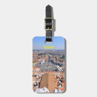 Het vierkant van heilige Peter in Vatikaan, Rome, Kofferlabels
