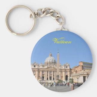 Het vierkant van San Pietro in Vatikaan, Rome, Sleutelhanger