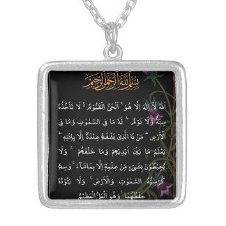 Het Vierkante Ketting van Kursi van Ayatul