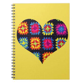 Het Vierkante Notitieboekje van de oma - haak Notitieboek