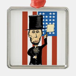 Het Vierkante Ornament van de Premie van Lincoln
