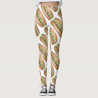 Het Vietnamese Varkensvlees Banh Mi Sandwich Leggings