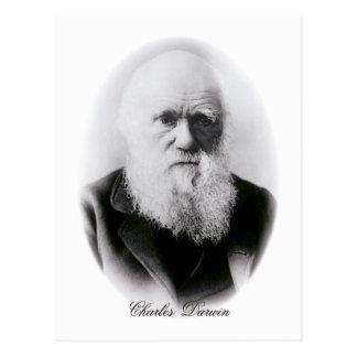 Het Vignet van Charles Darwin Briefkaart