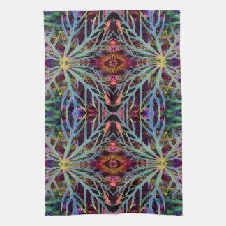 Het vinden van het Patroon van Kleuren Theedoek