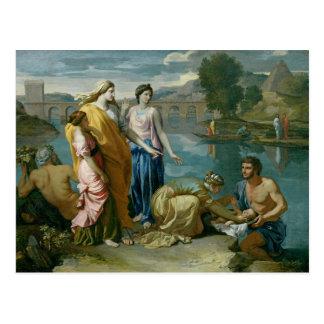 Het Vinden van Mozes, 1638 Briefkaart