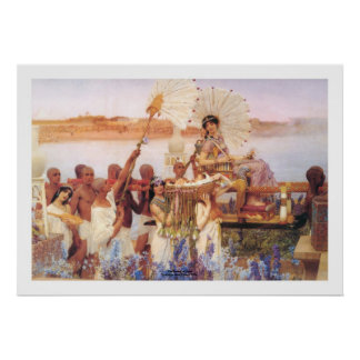 Het Vinden van Mozes, de Heer Lawrence Alma-Tadema Poster