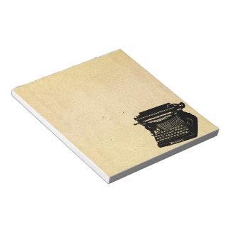 Het Vintage Afbeelding van de antiek Notitieblok