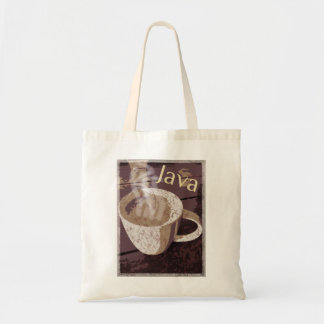 Het Vintage Art. van Java van de koffie Draagtas