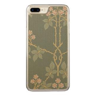 Het vintage Art. van William Morris Blackberry Carved iPhone 7 Plus Hoesje
