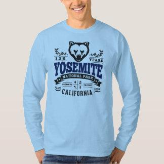 Het Vintage Blauw van Yosemite T Shirt