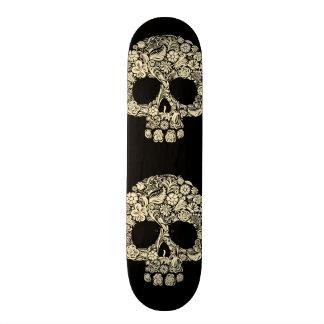 Het vintage BloemenDek van de Raad van het Schaats 20,0 Cm Skateboard Deck