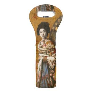 Het vintage Bolsa van de Wijn van de Geisha Wijndraagtas