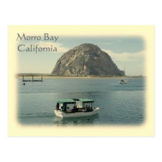 Het vintage Briefkaart van de Baai van Morro van