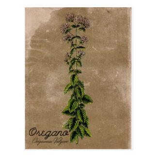 Het vintage Briefkaart van de Orego van de Stijl