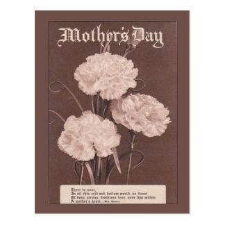 Het Vintage briefkaart van de replica, Moederdag