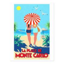 Het vintage Briefkaart van het Poster van de
