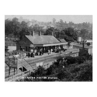 Het Vintage Briefkaart van het Station van Norton
