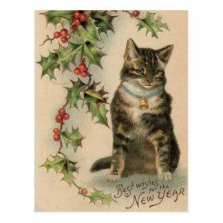 Het vintage Briefkaart van Kerstmis van het