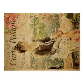Het Vintage Briefkaart van Postale van Carte