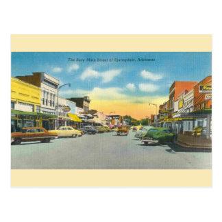 Het vintage Briefkaart van Springdale Arkansas
