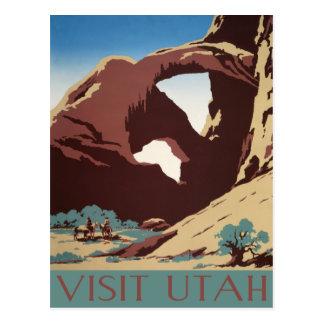Het vintage Briefkaart van Utah