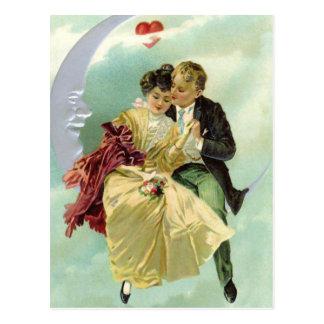 Het vintage Briefkaart van Valentijn van Liefjes