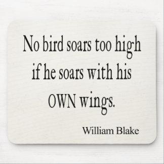 Het vintage Citaat van de Vleugels van William Muismat