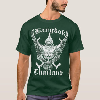 Het Vintage Embleem van Thailand Bangkok T Shirt