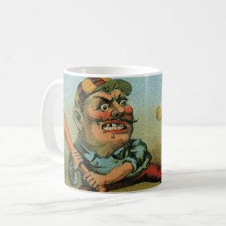 Het vintage Etiket van de Sigaar, de Stempel van Koffiemok