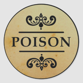 Het vintage Etiket van de Stickers van Halloween