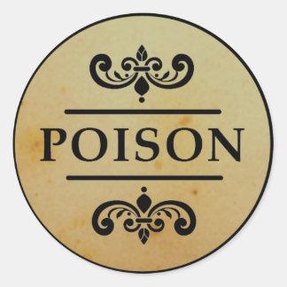 Het vintage Etiket van de Stickers van Halloween v