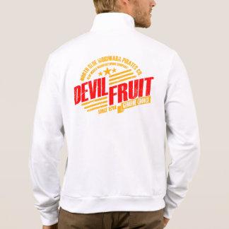 het vintage etiket van het duivelsfruit jacks