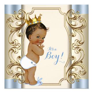 blauw en gouden baby shower cadeaus t shirts kunst posters andere cadeau idee n zazzle. Black Bedroom Furniture Sets. Home Design Ideas