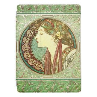 Het vintage Fine Art. van Alphonse Mucha Laurel iPad Pro Cover