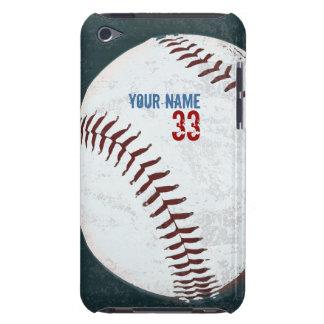 Het vintage gestileerde hoesje van de honkbalbal