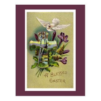 Het vintage Godsdienstige DwarsBriefkaart van Briefkaart