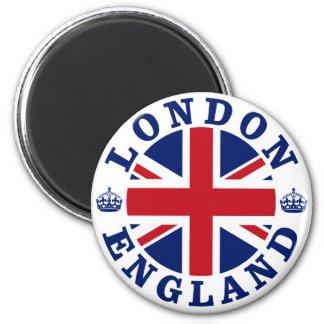 Het Vintage het UK Ontwerp van Londen Ronde Magneet 5,7 Cm