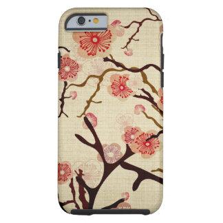 Het vintage Hoesje van de boom van de Kers Tough iPhone 6 Hoesje