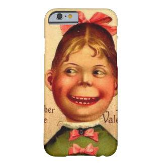 Het vintage hoesje van de het meisjestelefoon van