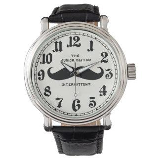 Het vintage Horloge van de Riem van het Leer van