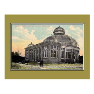 Het vintage Huis Allan Gardens Toronto van de Palm Briefkaart