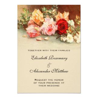 Het vintage Huwelijk, Antiquiteit nam het Kaart