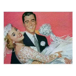 Het vintage Huwelijk bewaart de Datum gelukkige J