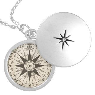 Het vintage Kompas nam Ketting toe
